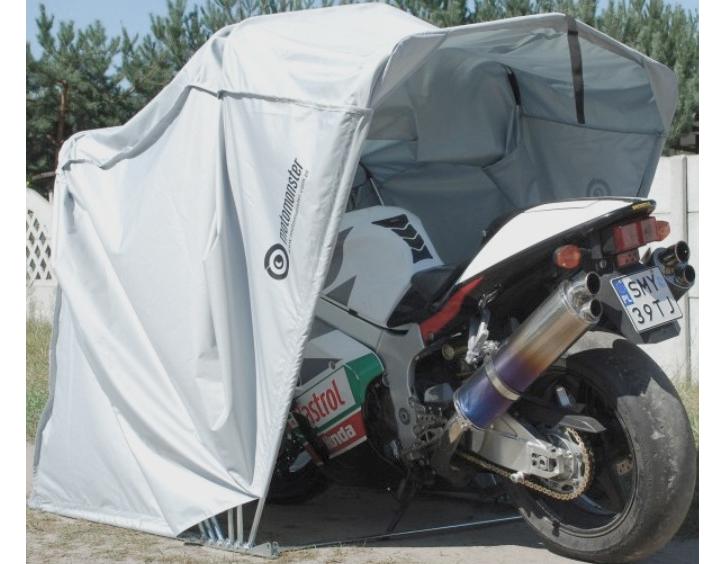 garaze skladane na motocykl