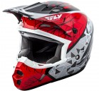 KASK CROSS/ENDURO FLY RACING KINETIC CRUX KOLOR CZERWONY