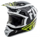 KASK CROSS/ENDURO FLY RACING KINETIC BURNISH KOLOR CZARNY