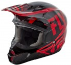 KASK CROSS/ENDURO FLY RACING KINETIC BURNISH KOLOR CZERWONY