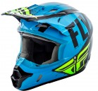 KASK CROSS/ENDURO FLY RACING KINETIC BURNISH KOLOR NIEBIESKI