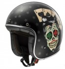 Kask LS2 OFF583 BOBBER TATTOO BLACK