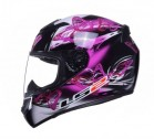 Kask integralny LS2 FF352 FLUTTER BLACK PURPLE