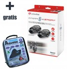 INTERPHONE SPORT - single pack-Intercom motocyklowy + Pokrowiec Oxford Aquarex GRATIS!