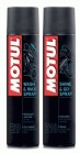 Motul Wash & Wax Spray E9 i Motul Shine & Go Spray E10
